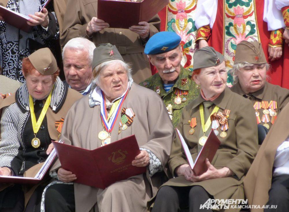 Участники Сводного хора.
