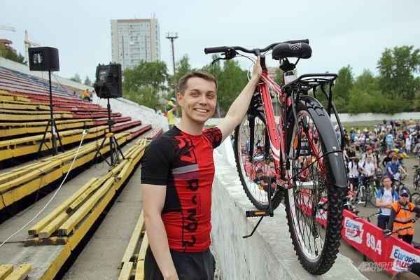 По результатам розыгрыша был определён счастливый обладатель нового велосипеда.
