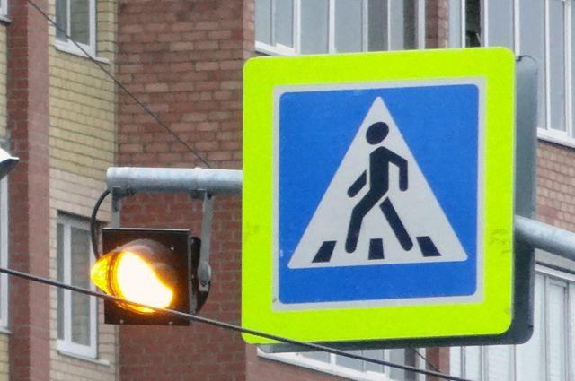 сбил пешехода переходившего на запрещающий знак светофора какой