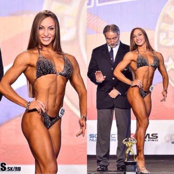 Евгения выступала в категории до 163 см, здесь было 9 участниц.