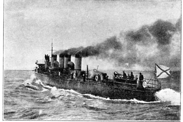 Эскадренный миноносец «Стерегущий» заложили в 1900 году на Невском заводе.