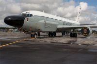 Самолёт-разведчик ВВС США RС-135.