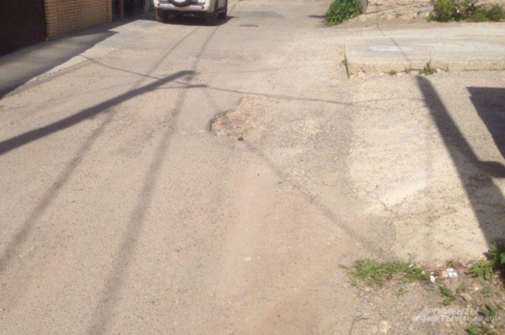 Проезд по ул. Казанской