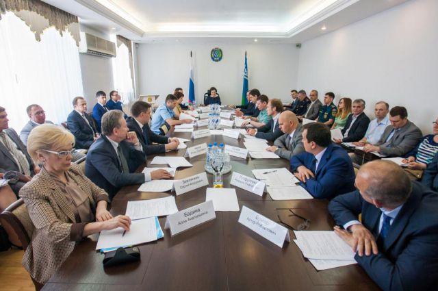 Заседание окружного Совета по вопросам инвестиций.