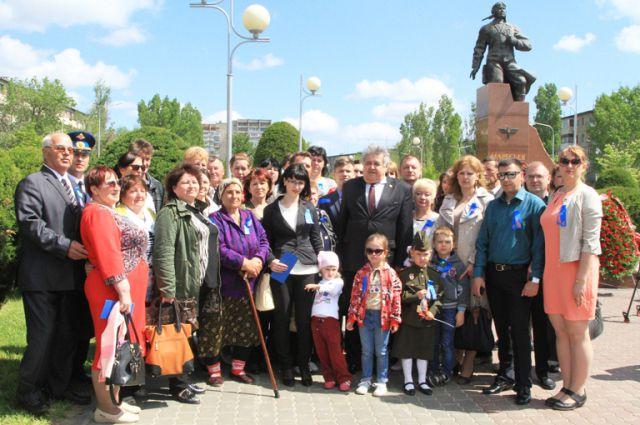 На праздник приехали почти 40 человек родственников А. П. Маресьева.