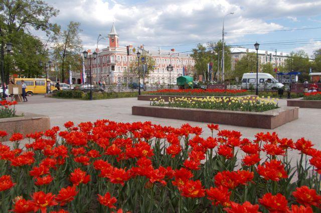 Летом Ульяновск расцветает