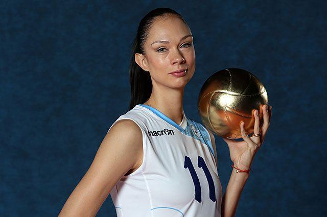 Екатерина Гамова, двукратная чемпионка мира по волейболу (2006 г., 2010 г.)