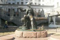 Памятник Корчмину на Васильевском острове.