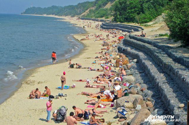 На пляжах Калининградской области проверили качество воды.