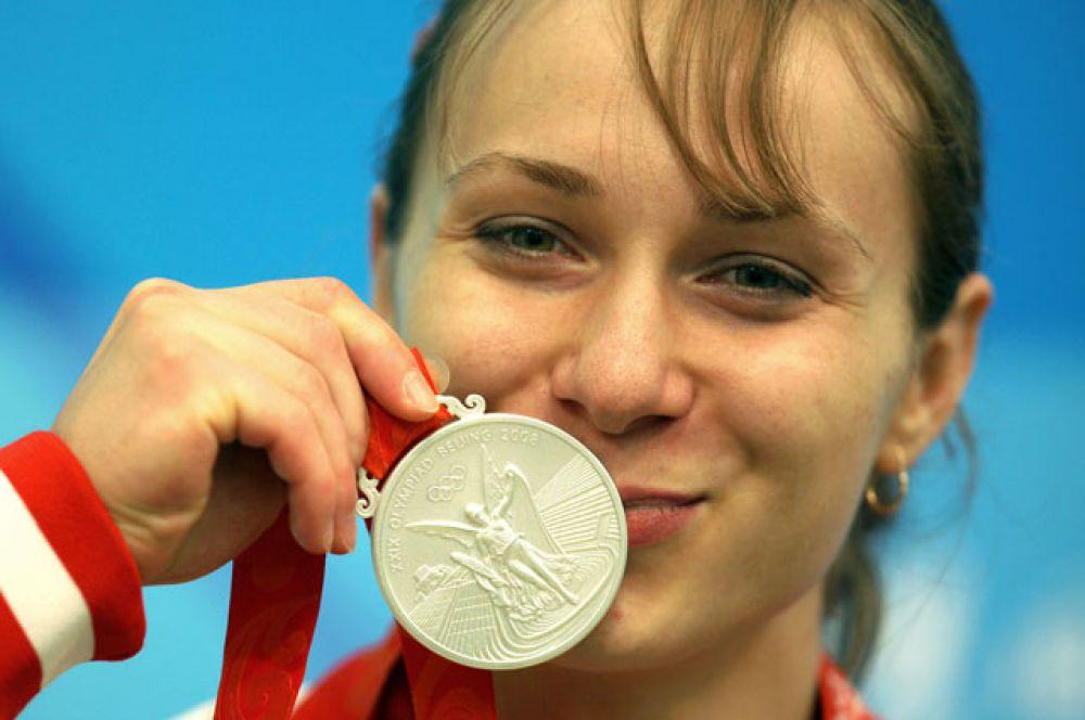 Мария Шаинова, тяжелая атлетика (серебряный призер Пекина);