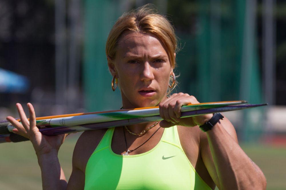 Мария Абакумова, метание копья (серебряный призер Пекина);
