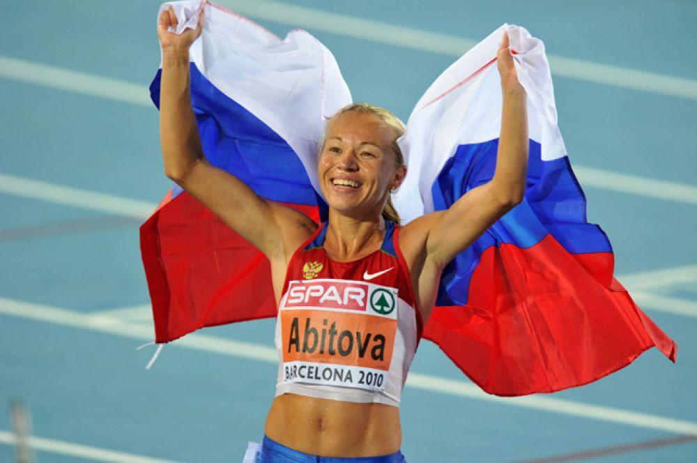 Инга Абитова, бег на 10 000 метров;
