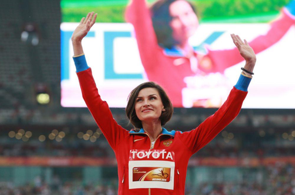 Анна Чичерова, прыжки в высоту (бронзовый призер Пекина);