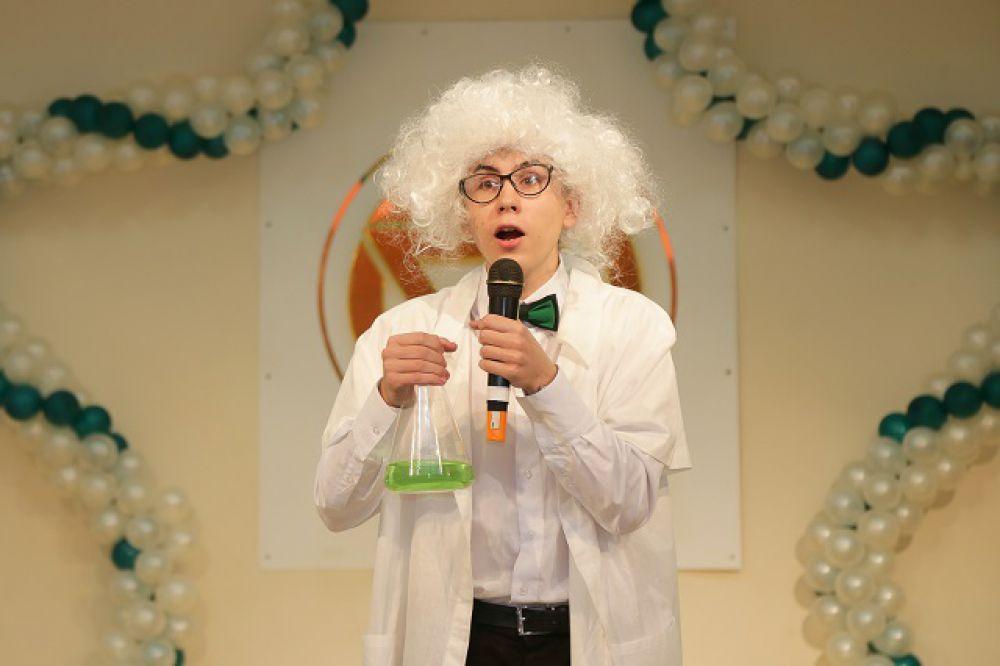 Образ чокнутого профессора.