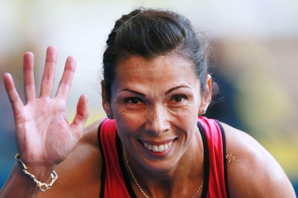 Анастасия Капачинская, эстафета 4х400 метров (серебряный призер Пекина);