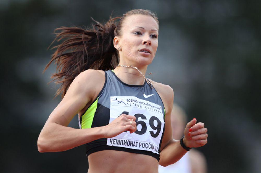 Юлия Чермошанская, эстафета 4х100 метров;