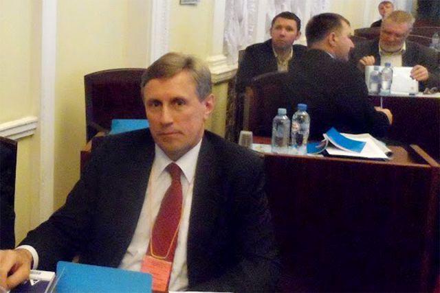Виктор Гринкевич на съезде Общероссийского профессионального Союза военнослужащих.