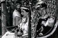 Во время коронация Елизаветы II.