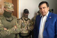 Михаил Саакашвили в здании Одесской ОГА