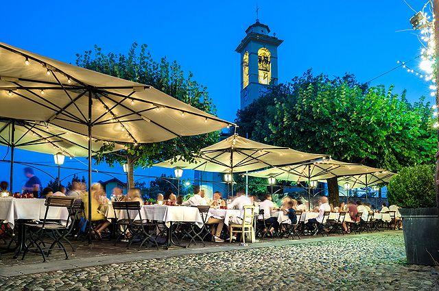 Жизнь в Италии начинается вечером...