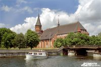 Федеральные каналы сняли передачи про Кафедральный собор в Калининграде.