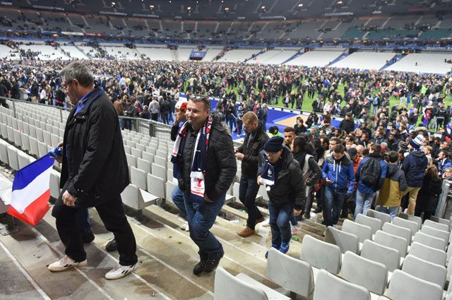 13 ноября 2015 года рядом с ареной «Стад де Франс» был совершён теракт.