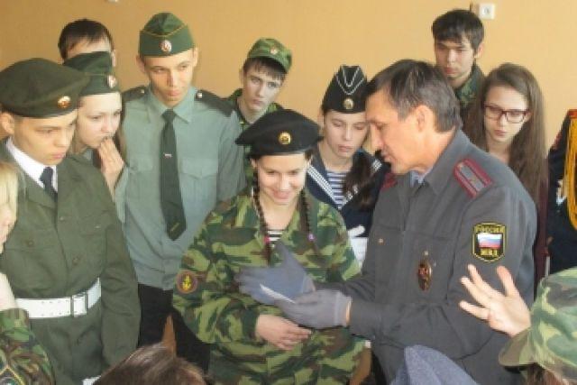 Школьники Адыгеи поедут на 1-ый слёт «Юнармии»