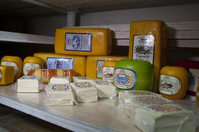 Партию сыра не пропустили через границу.