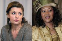 Жена президента Украины Марина Порошенко ижена президента ЮАР.