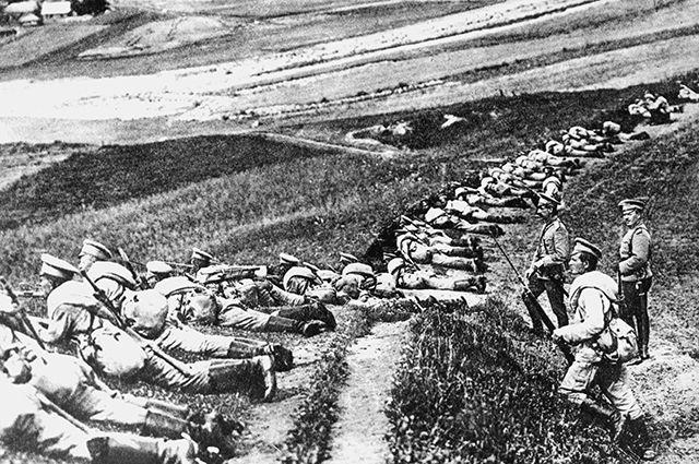 Русская армия в Первой мировой войне.