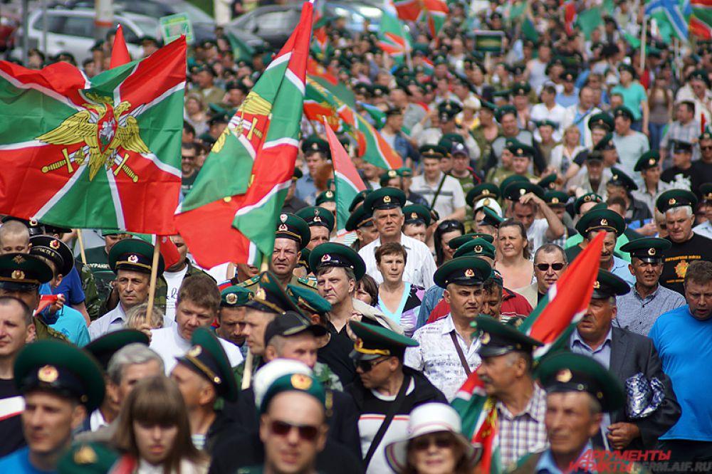 По предварительным данным, в шествии приняли участие около трёх тысяч пермяков.