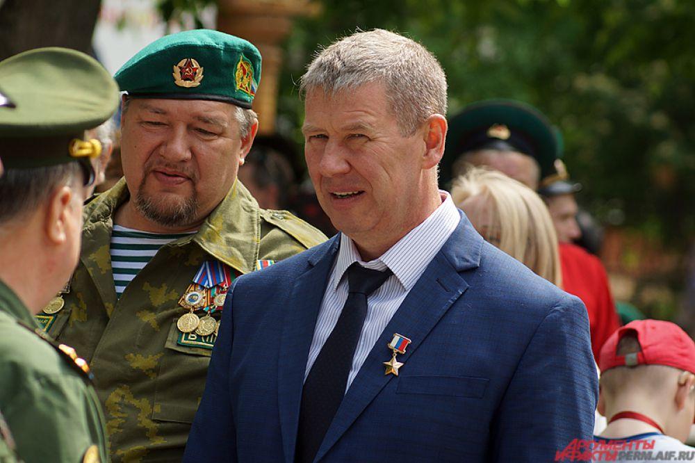 На празднике присутствовал и герой России Сергей Яшкин.