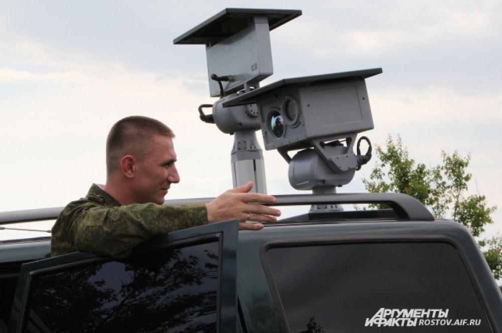 Пограничники получили новое оптическое спецустройство – тепловизор, прибор позволяет видеть объект на расстоянии 20 км.
