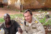 Константин Ярошенко в одной из африканских стран.