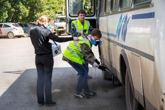 Ранее автобусы уже проверяли, в том числе, и сотрудники ГИБДД.