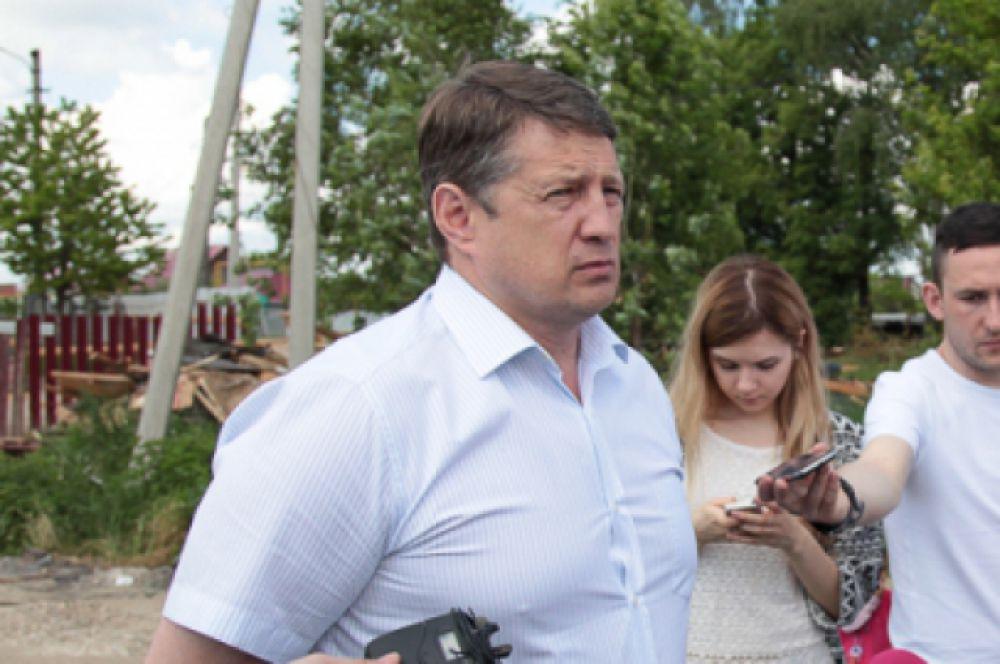 Глава администрации Тулы Евгений Авилов находился на месте с самого утра