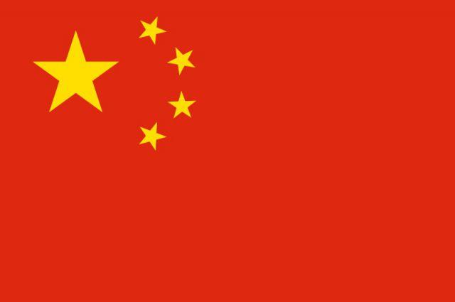 Китайский флаг.