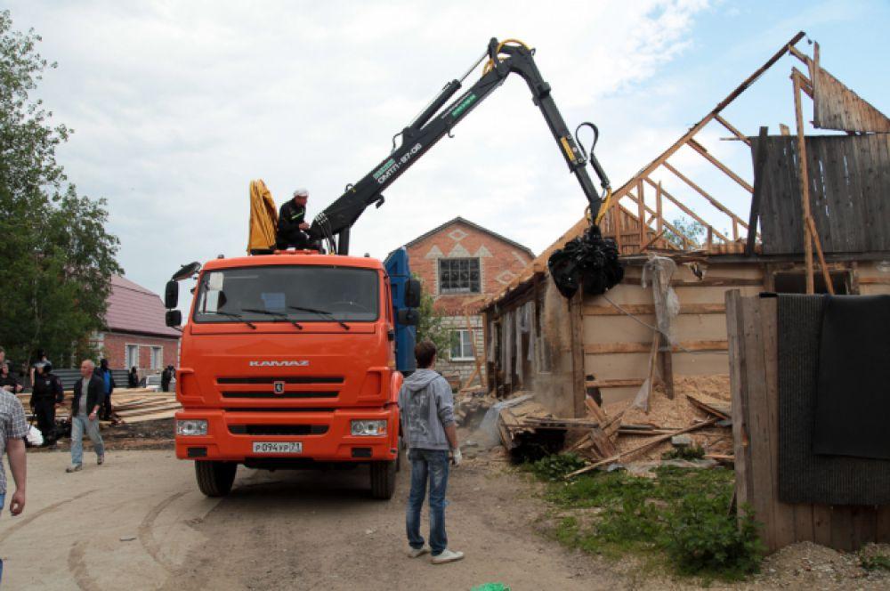 Всего в Плеханове должны снести более 100 домов