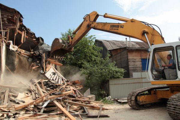 Сносить незаконные постройки теперь будут каждую неделю