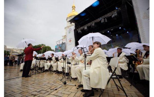 Концерт на Софиевской площади