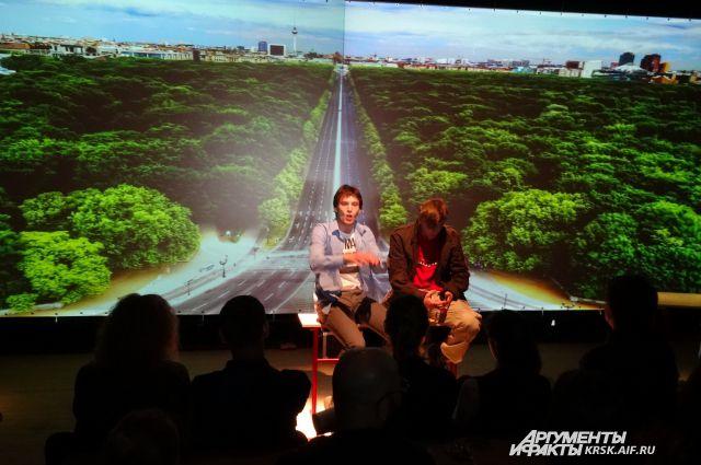 В рамках фестиваля прошёл III конкурс драматургов Красноярского края «ДНК».