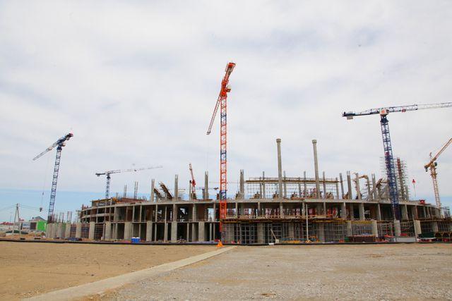 Строительство стадиона в Нижнем Новгороде