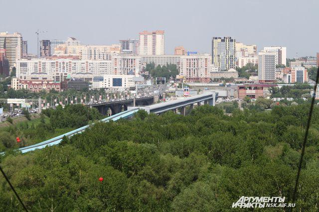 Ледовую арену построят возле моста.