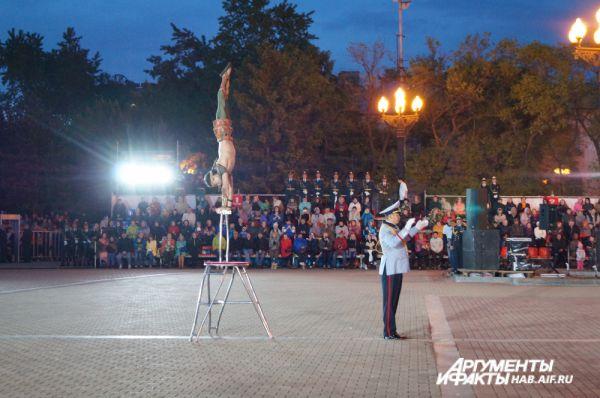 Монголы привезли в Хабаровск гимнаста.