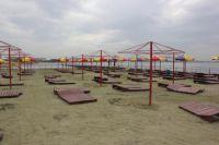 Пляж в Челябинске.