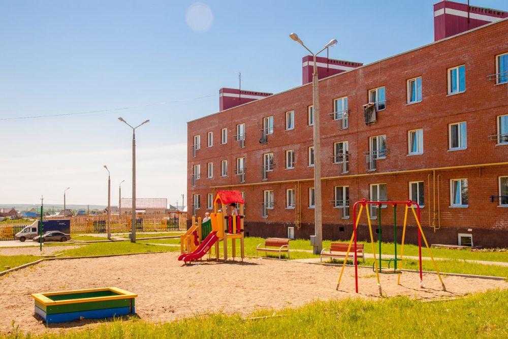 Для маленьких жителей предусмотрены безопасные игровые площадки и детский сад.