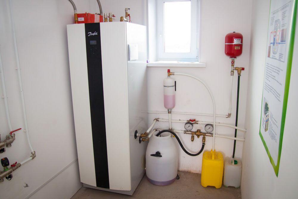 Альтернатива в отоплении дома – тепловой насос.