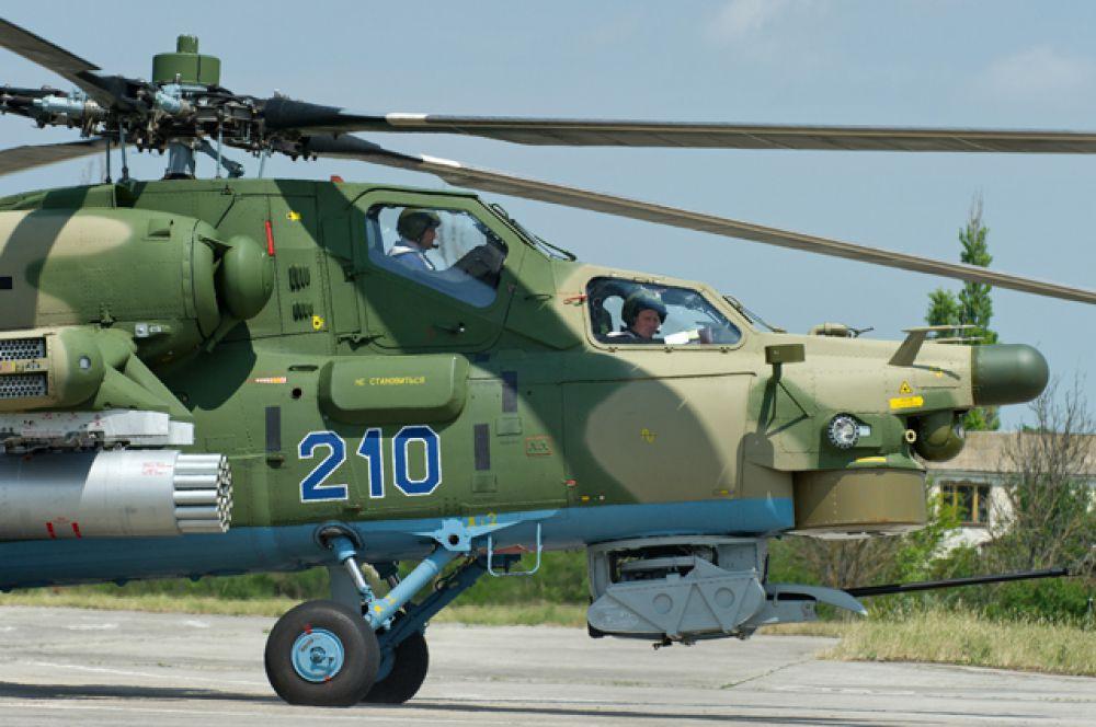 Ударный вертолет Ми-28H «Ночной охотник».