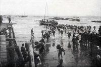 Высадка 2-й японской армии на Ляодунском полуострове.