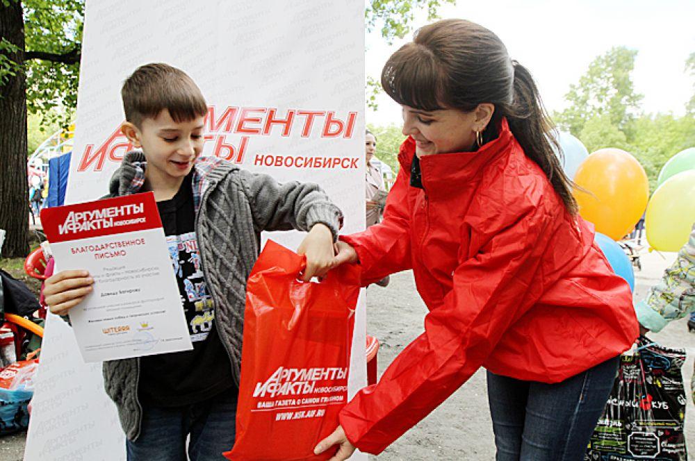 Постоянный участник конкурсов «АиФ на Оби» Давид Багиров получил грамоту за 6 место в конкурсе.